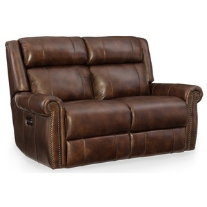 Esme Power Motion Loveseat w/ Power Headrest | Hooker Furniture