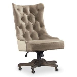 Vintage West Executive Desk Chair | Hooker Furniture