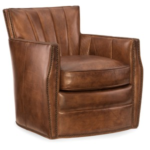 Carson Swivel Club Chair | Hooker Furniture