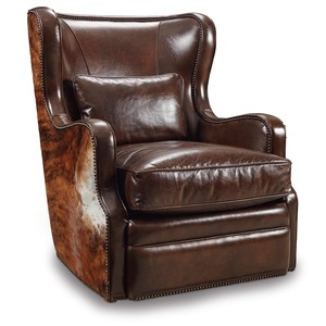 Wellington Swivel Club Chair | Hooker Furniture