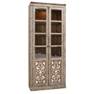2 Door Bunching Curio | Hooker Furniture
