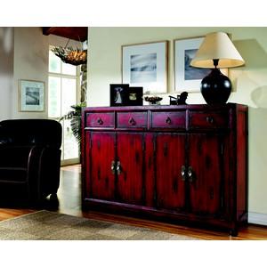 Red Asian Cabinet   Hooker Furniture