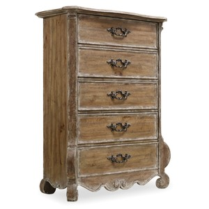 Chatelet 5 Drawer Chest | Hooker Furniture