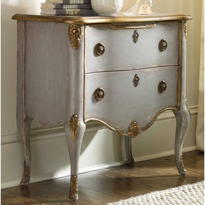 French 2 Drawer Chest   Hooker Furniture