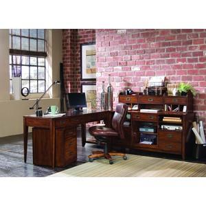 Danforth Open Credenza | Hooker Furniture