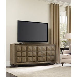 Modern Entertainment Console | Hooker Furniture