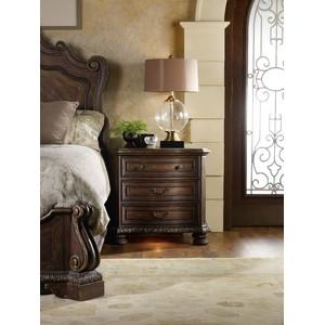 Adagio Three Drawer Nightstand | Hooker Furniture