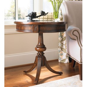 Round Pedestal Accent Table | Hooker Furniture