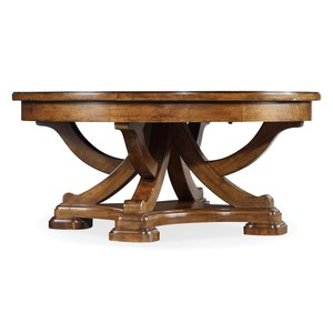 Tynecastle Round Cocktail Table | Hooker Furniture