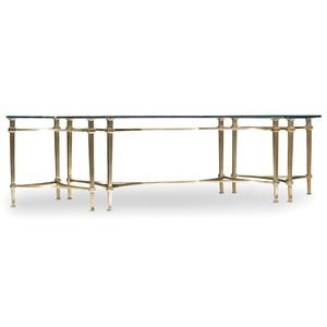 Highland Park Rectangular Cocktail Table | Hooker Furniture