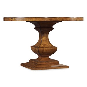Tynecastle Round Pedestal Dining Table | Hooker Furniture