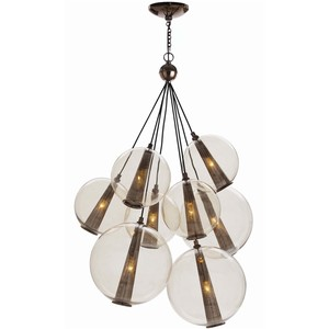Caviar Adjustable Large Cluster Pendant | Arteriors