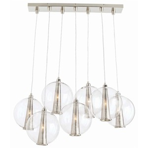 Caviar Fixed Staggered Pendant | Arteriors