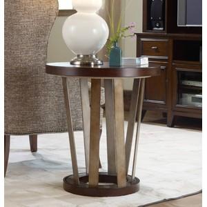 Lorimer Round End Table   Hooker Furniture