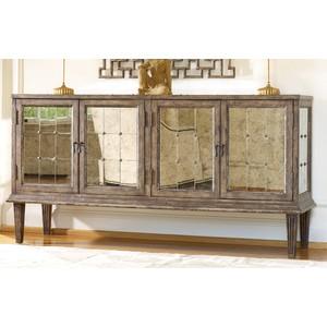 DeVera Mirrored Console   Hooker Furniture