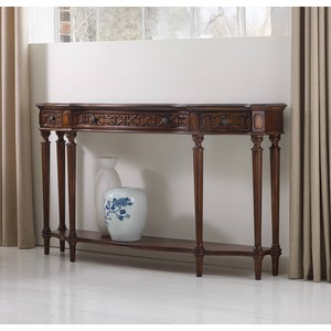Three-Drawer Thin Console | Hooker Furniture