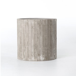 White Washed Planter | Four Hands