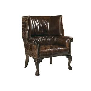 Cardiff Leather Chair   Lexington