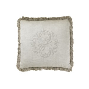 Courtrai Throw Pillow, Linen | Lexington