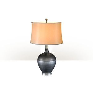 Silvered Shimmer Table Lamp | Theodore Alexander