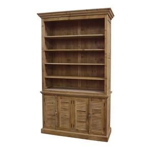 Open Top Double Bookcase | GJ Styles