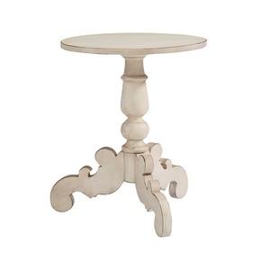 Tripod Hall Table in Anitque White | Magnolia Home