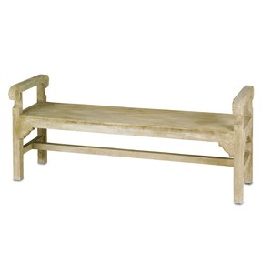 Chippendale Bench | Currey & Company