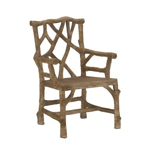 Woodland Arm Chair | Currey & Company