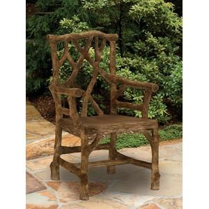 Woodland Arm Chair   Currey & Company