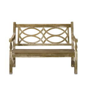 Hatfield Bench | Currey & Company