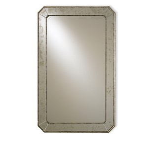 Antiqued Wall Mirror | Currey & Company