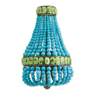 Turquoise Lana Wall Sconce   Currey & Company