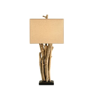 Driftwood Table Lamp | Currey & Company