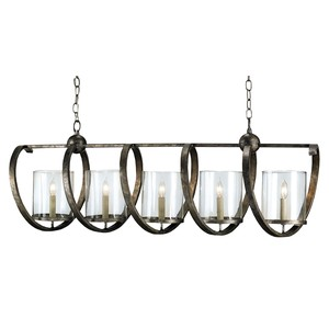 Maximus Rectangular Chandelier | Currey & Company