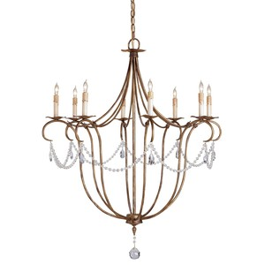 Crystal Light Chandelier | Currey & Company