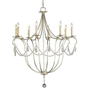 Crystal Lights Chandelier, SL 8L | Currey & Company