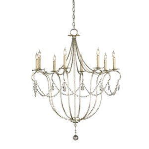 Crystal Lights Chandelier, SL 8L