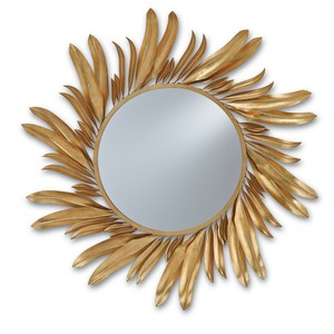 Folium Mirror | Currey & Company