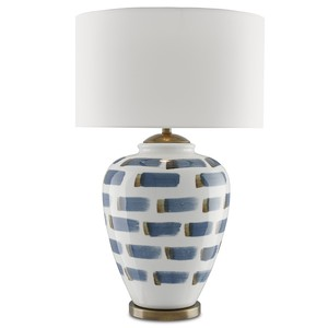 Brushstroke Table Lamp | Currey & Company
