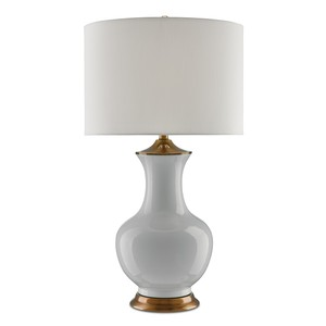Lilou Table Lamp in White