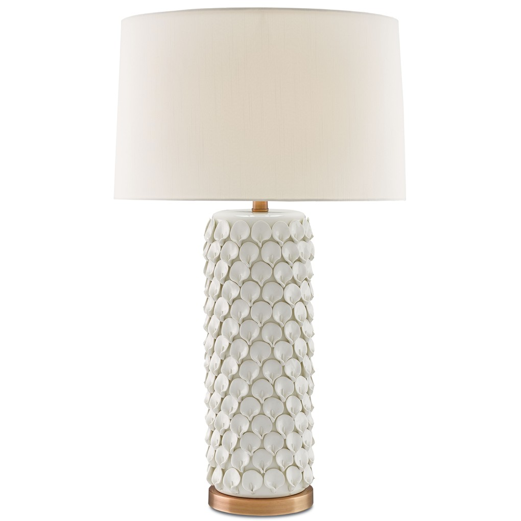 Calla Lily Table Lamp | Currey & Company