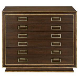Benedict Map Chest | Currey & Company