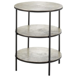 Cane Accent Table | Currey & Company