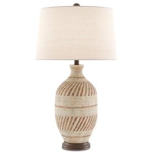 Faiyum Table Lamp | Currey & Company