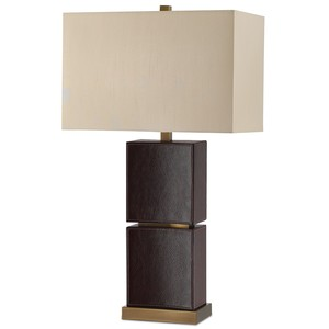 Pelle Table Lamp | Currey & Company