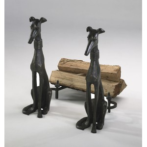 Dog Andirons | Cyan Design