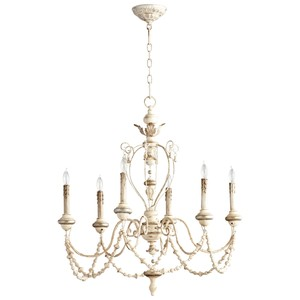 Florine Six Light Chandelier