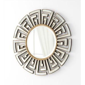 Cleopatra Mirror   Cyan Design