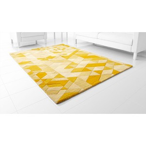 Facets Gold Rug | Cyan Design