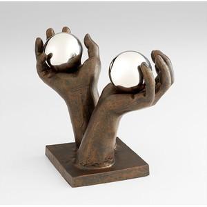 Past And Future Sculpture   Cyan Design
